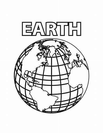 Earth Coloring Pages Printable Planet Bestcoloringpagesforkids