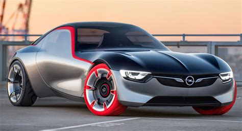 New Opel Gt by New Opel Gt Concept Gets An Early Reveal Ahead Of Geneva Debut