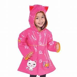 Kidorable.com | Lucky Cat Rain Coat for Kids