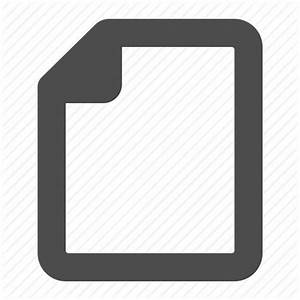blank document empty file page icon icon search engine With documents folder empty