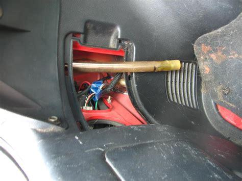 ef hatch sunroof rear drain plug clean  honda tech