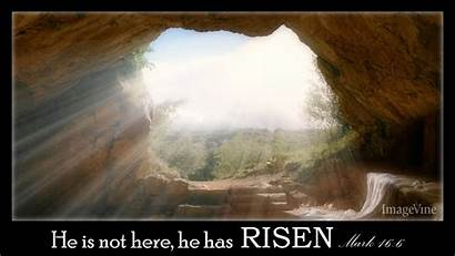Easter Religious Backgrounds Tomb Empty Christian Sunday