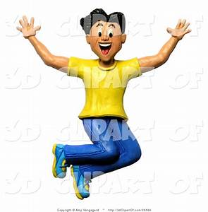 excited happy man clipart - Clipground