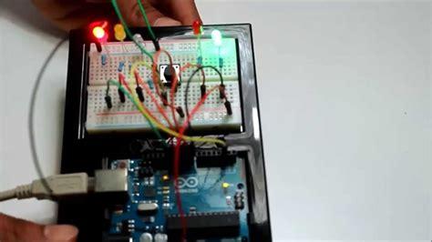 an interactive traffic lights using arduino arduino project 4 interactive traffic light 44534