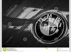 BMW Carbon LOGO editorial stock image Image of logo