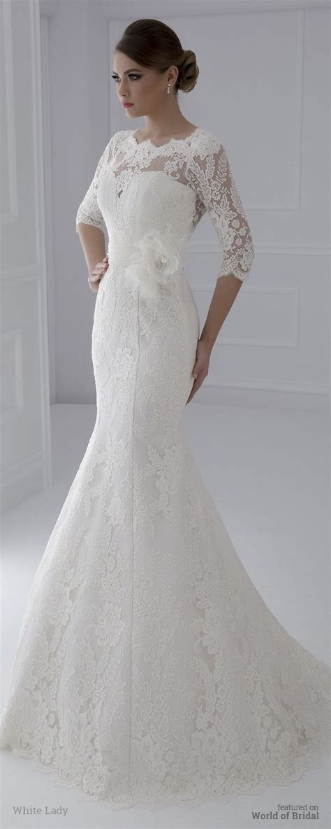 white lady  wedding dresses world  bridal