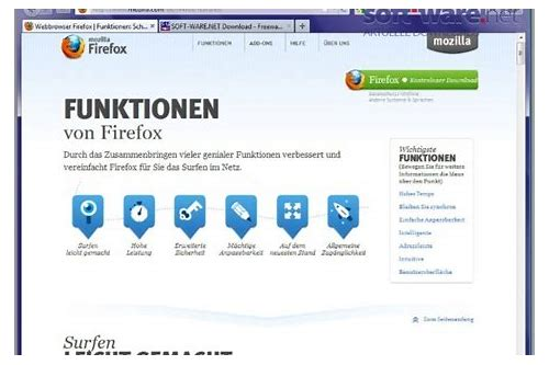 herunterladen mozilla firefox software kostenlos deutsch windows vista