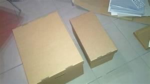Bac A Vinyl : des bo tes en carton pour ranger vos vinyles des pochettes et autres actu mes disques ~ Teatrodelosmanantiales.com Idées de Décoration
