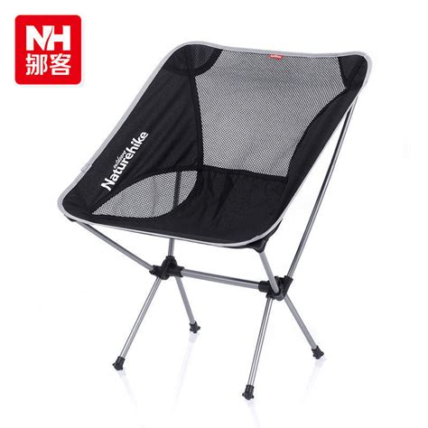 nh naturehike aluminum folding chairs seat outdoor cing