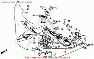 Honda Gl1100i Goldwing Interstate 1982  C  Usa Fairing