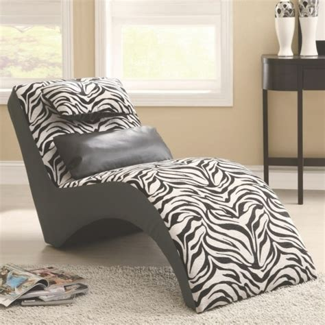 chaise zebre zebra chaise lounge print chair ideas photo 70 chaise design