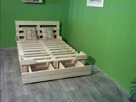 pallet bed platform pallet platform bed with storage 99 pallets