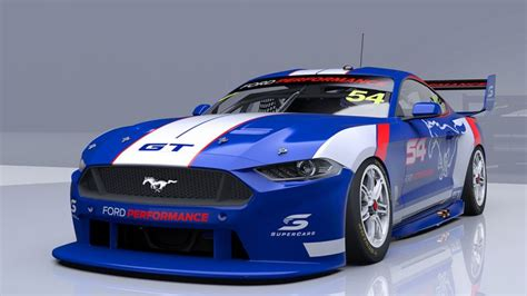ford mustang in supercars specification