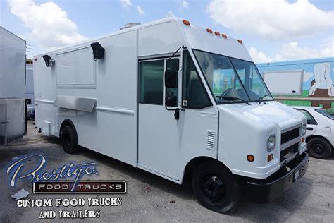 cuisine customiser 2006 ford gasoline 18ft food truck 89 000