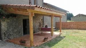Prix Terrasse Bois : terrasse couverte bois prix nos conseils ~ Edinachiropracticcenter.com Idées de Décoration