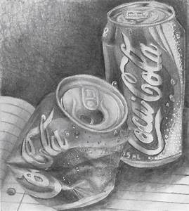 pencil drawing crushed cans - Google Search   pencil ...