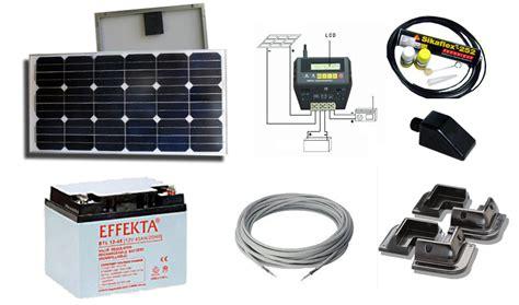 kit panneaux solaires pour chalet kit solaire eco project