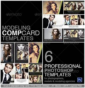 model comp card photoshop template on behance With free model comp card template psd