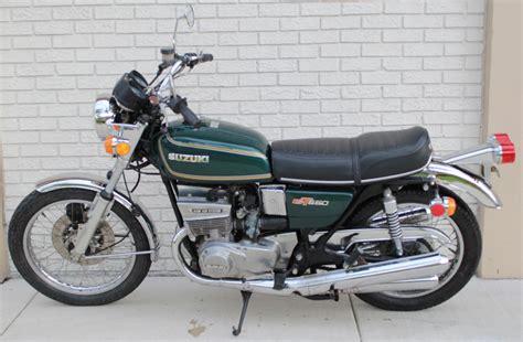 1976 Suzuki Gt550 by 1976 Suzuki Gt 550 Prestigious Motorcycles