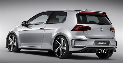 Vw R 400 by Say Hello To The R400 The Vw Golf On Steroids