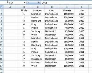 3  Excel Tabellen Und Diagramme  U2013 Werden