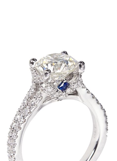 lyst vera wang love boutique diamond engagement ring