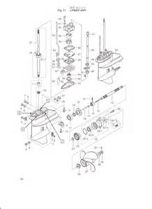 Please Supply Diagram Showing How To Service Leg Of 9 8hp Tohatsu 2 Stroke Outboard Thank You