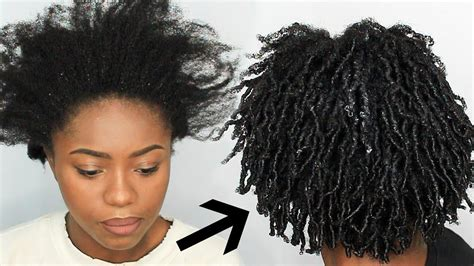 How To Do Hairstyles For Black Hair by Finger Coils On 4c Hair Impression