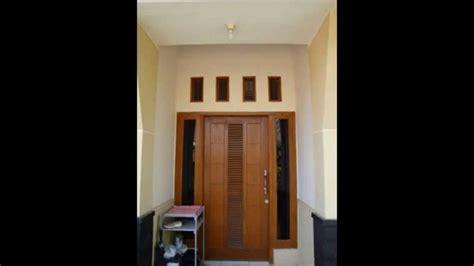 ide  model pintu minimalis kayu jati