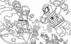 Spider-man  Web Warriors Ultiem Brugduel - Kleurplaat - Activiteiten