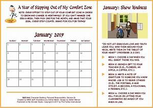 Calendar for January- theme: Kindness