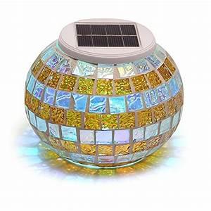 lampes boule multicolore With spot eclairage arbre exterieur 8 pot lumineux ledinterieur et jardin deco lumineuse