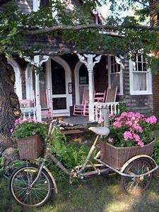 Gartenhaus Shabby Chic : gostei bicicletas bikes pinterest garten haus und shabby chic garten ~ Markanthonyermac.com Haus und Dekorationen