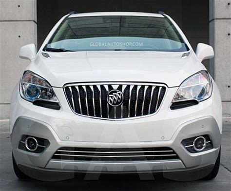 buick encore chrome grill custom grille grill inserts