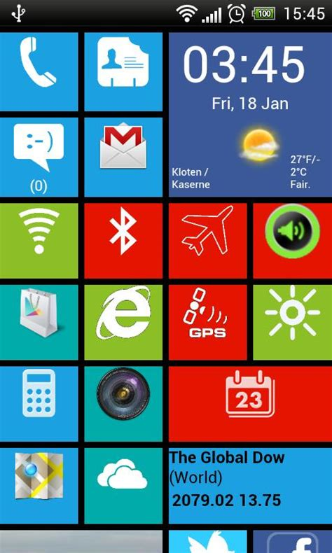 window 8 launcher for android windows8 windows 8 launcher android apps on