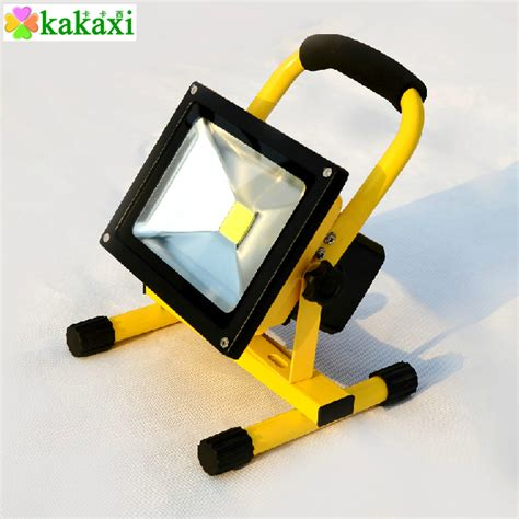 10w 20w 30w charging led flood light rechargeable