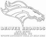 Broncos Coloring Denver Drawing Nfl Bronco Football Logos Usage Printable Denverbroncos Drawings Worksheets Paintingvalley sketch template