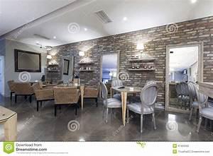 Mur En Pierre Interieur Moderne : mur pierre salon contemporain ~ Melissatoandfro.com Idées de Décoration