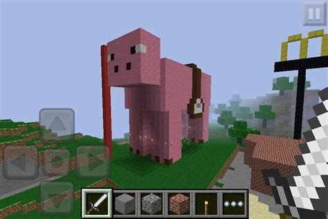 minecraft saddle pig pe giant mcpe imgur