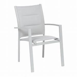 Fauteuil Gris Clair : fauteuil de jardin empilable azua gris clair chaise et fauteuil de jardin eminza ~ Teatrodelosmanantiales.com Idées de Décoration