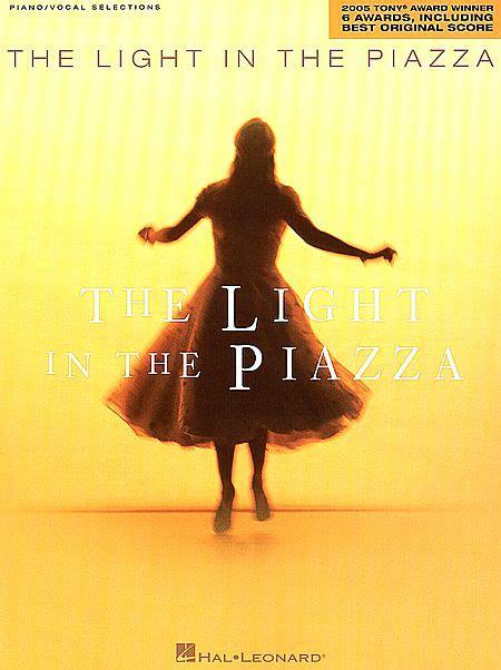 the light in the piazza the light in the piazza sheet by adam guettel sku