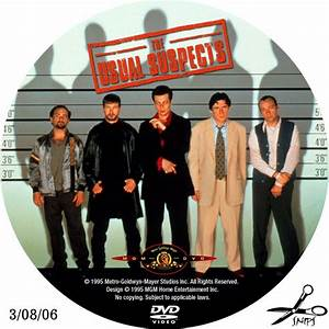 The Usual Suspects - Custom Dvd Labels