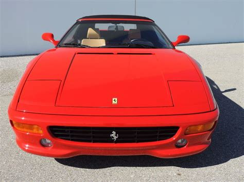 1999 s reg ferrari f355 f1 spider finished in the perfect colour combination of rosso corsa with contrasting crema leather interior. 1999 Used Ferrari F355 Spider F1 at CNC Motors Inc. Serving Upland, CA, IID 15286024