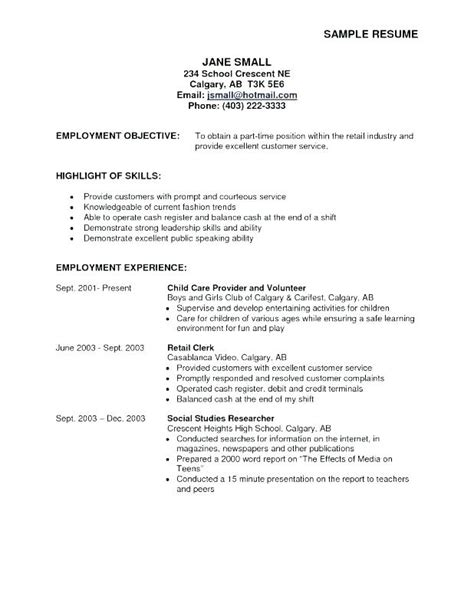 Exles Of Career Objectives For Resumes by Great Resume Objectives Exles Wikirian