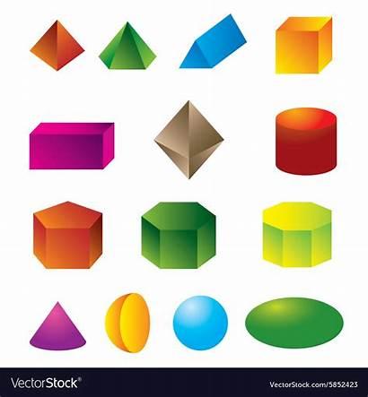 Shapes Geometric 3d Vector Royalty Vectors Shutterstock