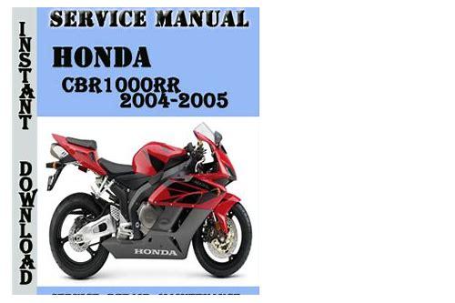 2005 Cbr600rr Service Manual Download Probfumbsessri