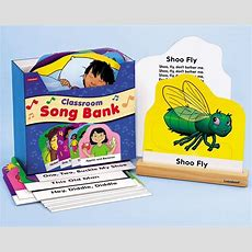 Classroom Song Bank I Need This!!!  For The Kids  Lakeshore Learning, Classroom, Elementary