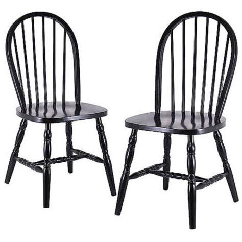 Kitchen Chairs At Walmart by Chair Set Of 2 Black Walmart