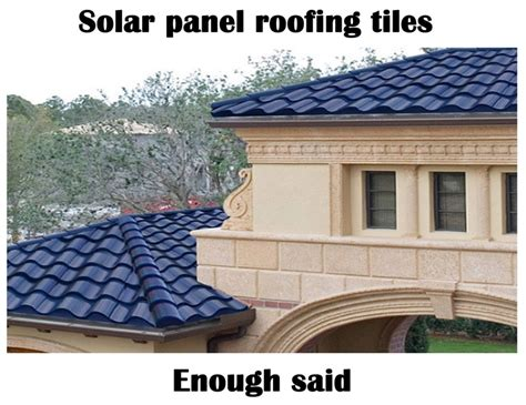 beautiful blue tile solar roofing it materials
