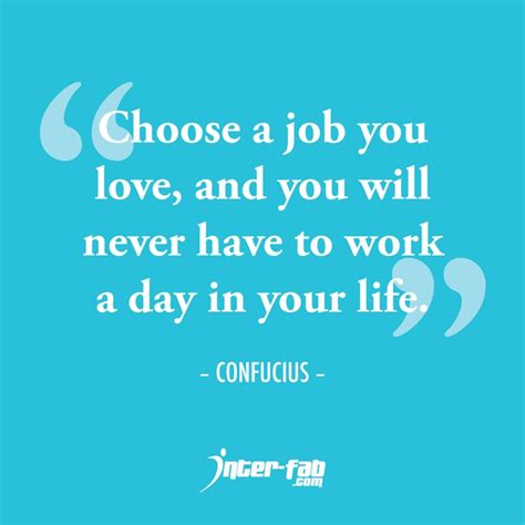 Loving Your Job Quotes